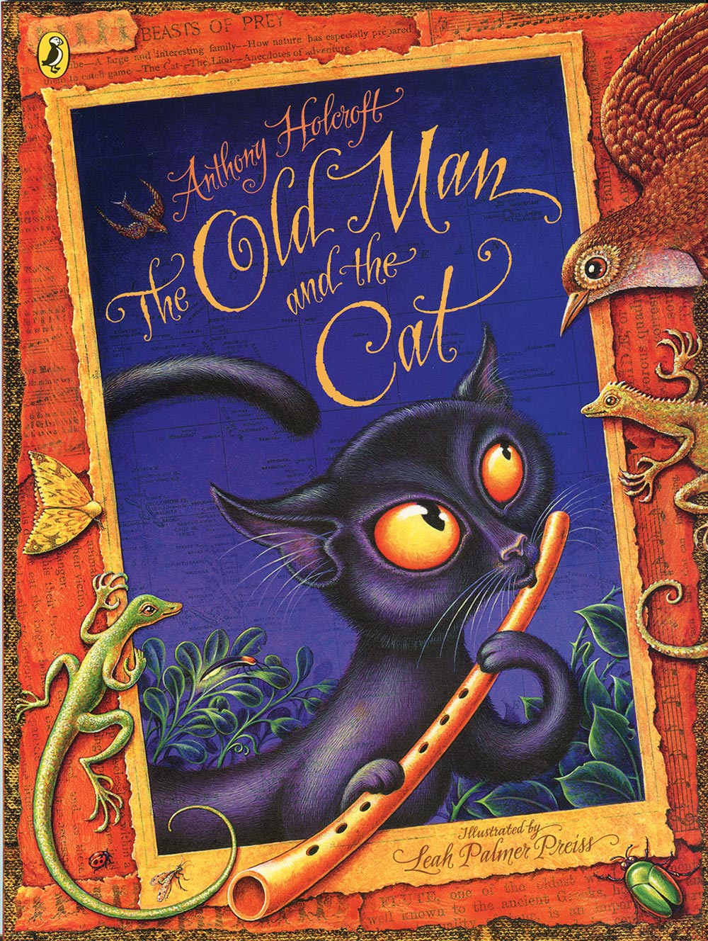Link to Anthony Holcroft's picture book, The Old Man and the Cat.