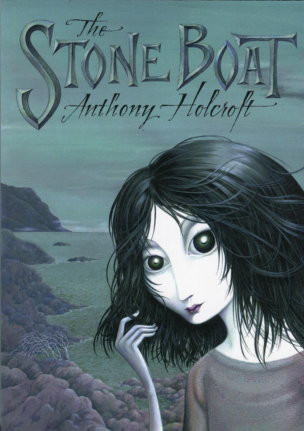 Link to Anthony Holcroft's story collection, The Stone Boat.